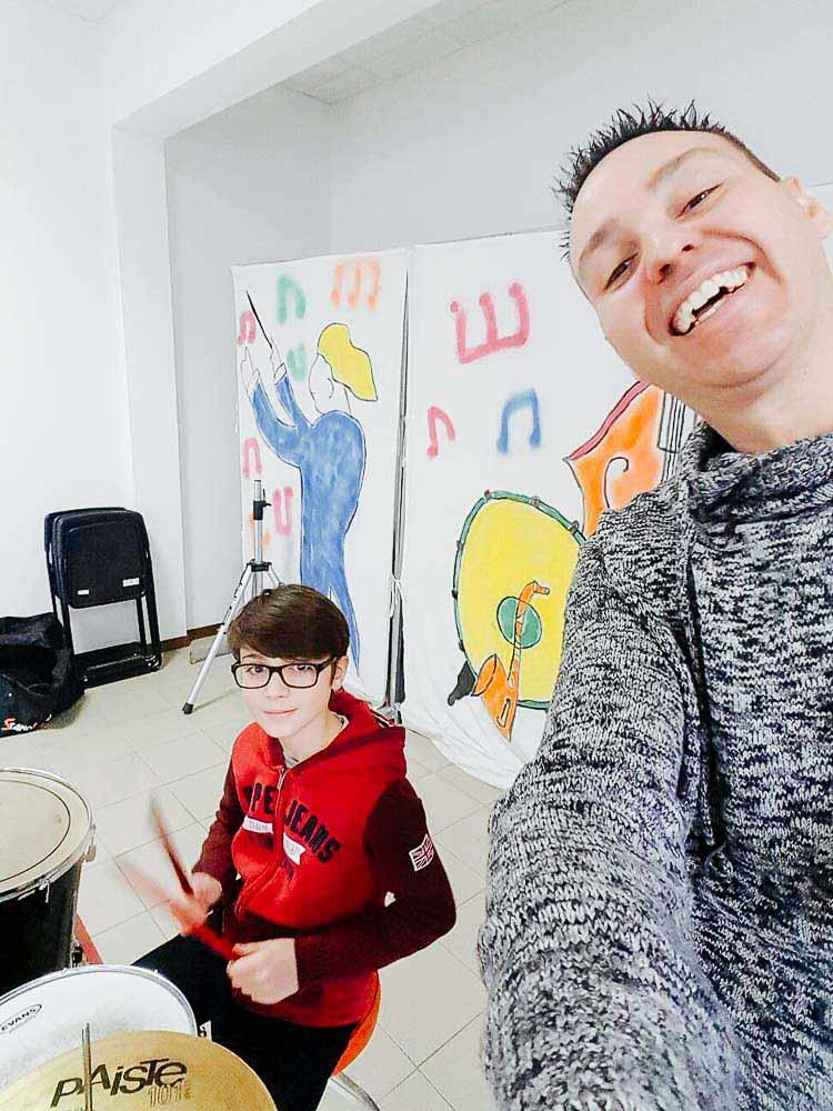 corsi di batteria scuola musicale ARS Musica