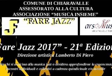 Apertura iscrizioni corsi Fare Jazz anno 2017