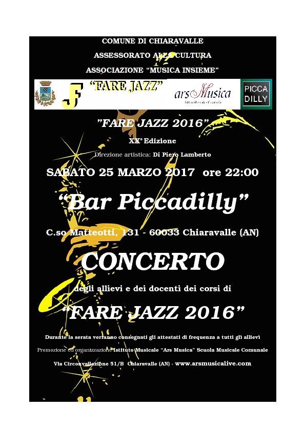Saggio Fare Jazz 2017