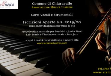 Iscrizioni 2019/20 Ars Musica