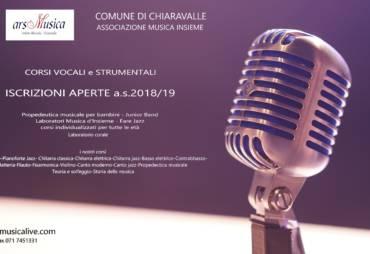 Iscrizioni 2018/19 Ars Musica